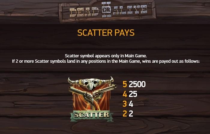 scatter symbol banner