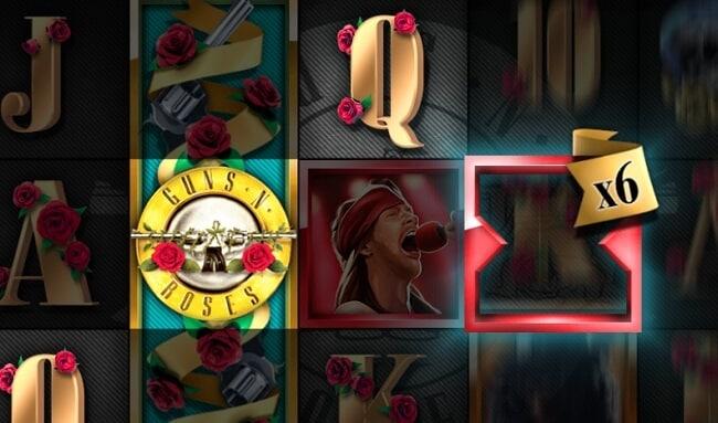 guns and roses banner