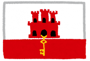 ジブラルタル国旗